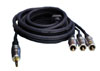 PROFIGOLD (PGV 5402) 3.5mm Jack to 3x RCA Camcorder Cable 1.5m